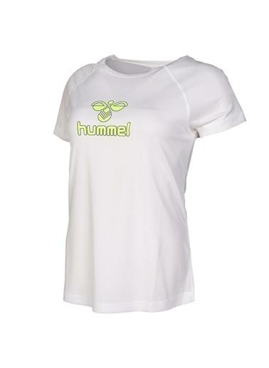 Hummel Kadın Tişört Nancy 911010-9003 Beyaz